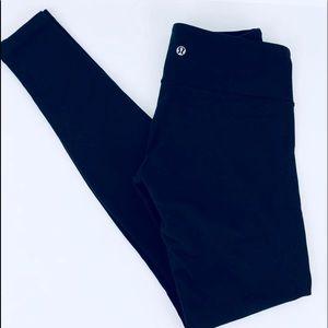 Lululemon Black Full Length Leggings No Size Dot 6